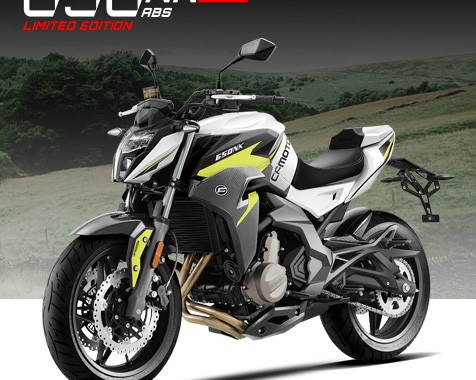 CFMoto 650NK TT ABS – Isle of Man TT Limited Edition