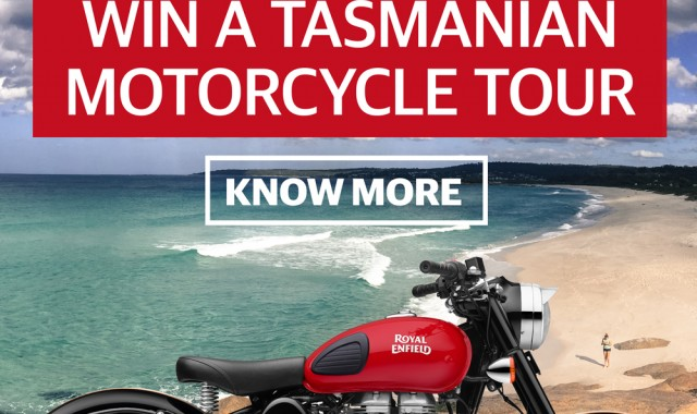 WIN A TASMANIAN MOTORCYCLE TOUR