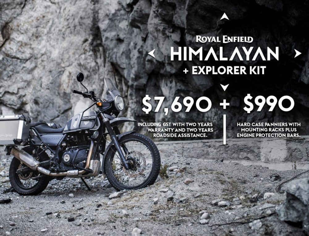 HIMALAYAN + EXPLORER KIT