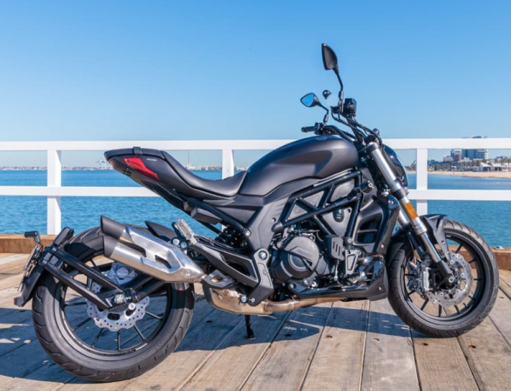 Benelli 502C First Ride