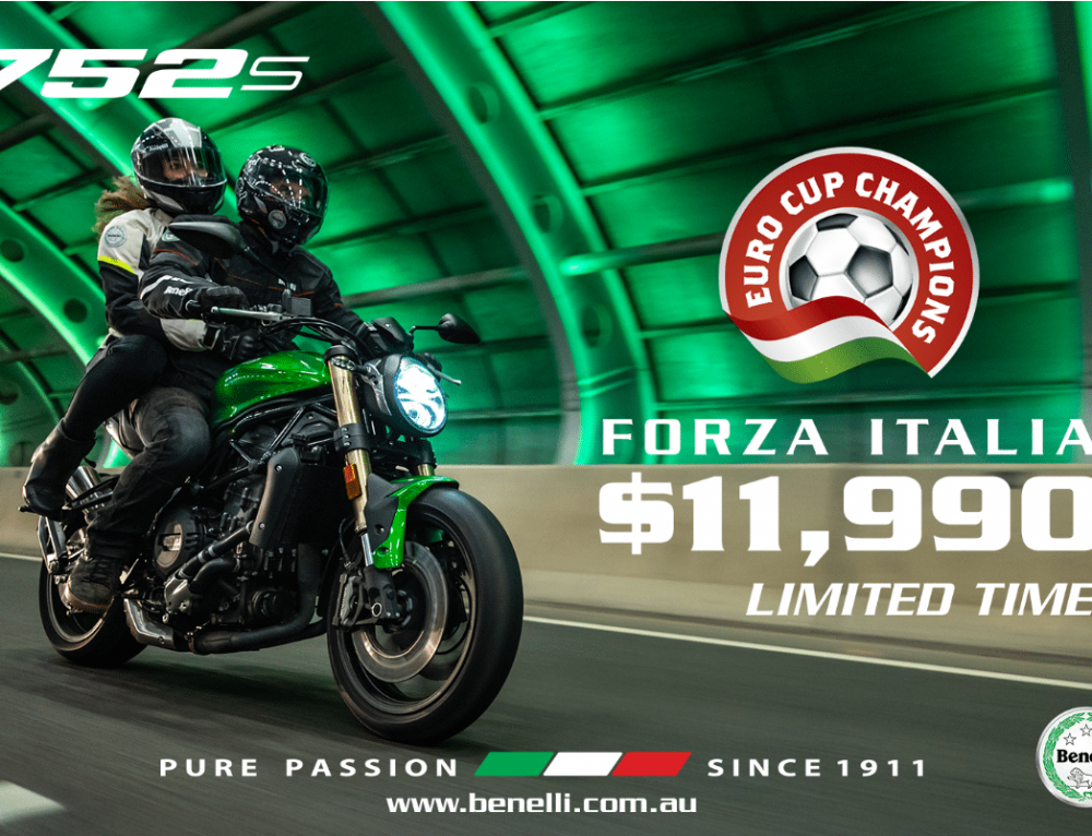 $1000 off the Benelli 752s!!